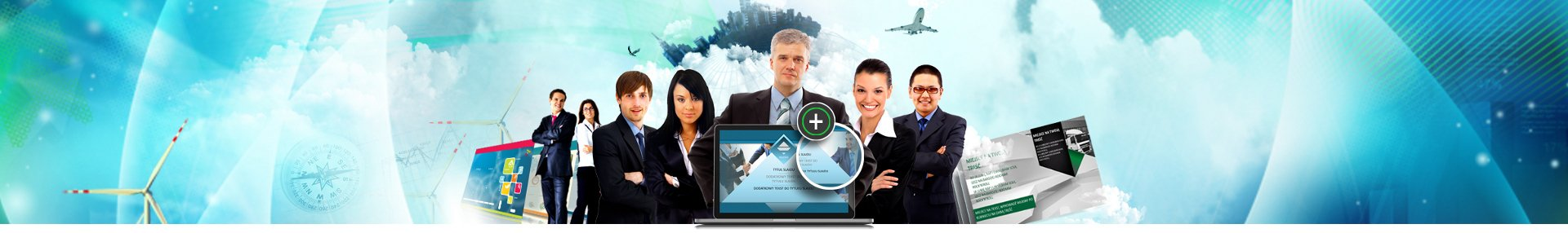 Baner profesjonalne prezentacje dla firm