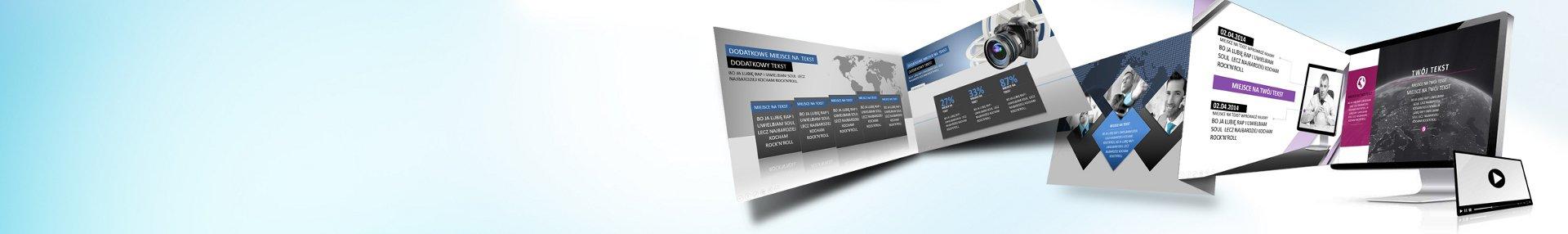 Profesjonalna prezentacja biznesowa treść + grafika