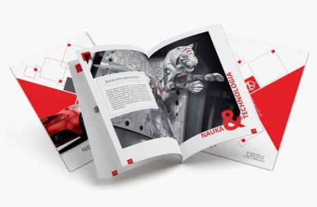 Projektowanie katalogu firmowego do druku