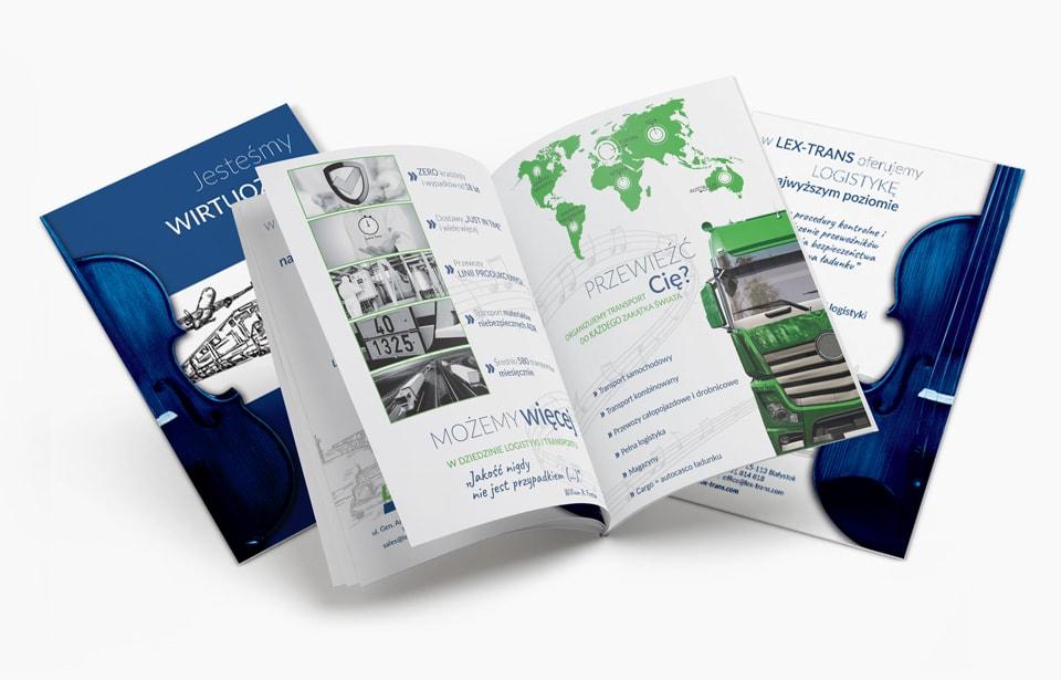 Przykład zaprojektowanego katalogu